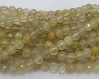golden rutilated quartz natural