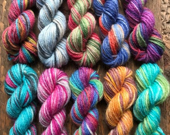 OPAL Sock Yarn Mini Skein Set #5 -- 10 Mini Skeins/25 Yards Each