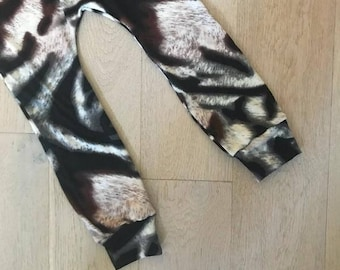 SALE * Animal Print Baby & Toddler Leggings – Made to Order 0 Months - 4 Years