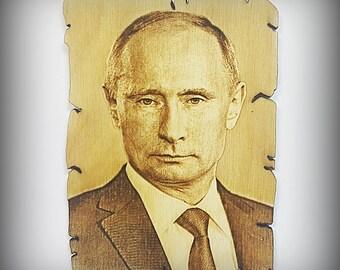 Mr. Putin: fridge magnet