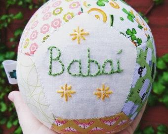 St Patrick's Day Baby Gift, handmade in Ireland, Irish christening gift, Irish baby gift, personalized baby gift