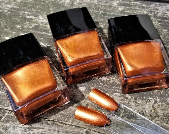 Signature Sector Nail Polishes: Maricela's Shimmery Bronze