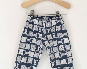 Forest Animals Baby, Toddler, and Child Harem Pants