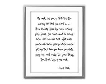 SALE-My Wish For You Song Lyrics- Art Print - Wall Art Designs- Gallery Wall- Quote Prints-Country Music Songs- Song Lyrics- Wedding Gift