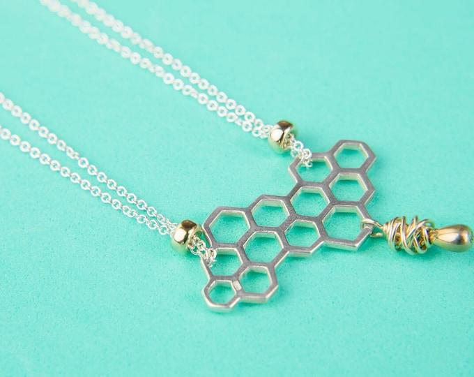 Hive Short Necklace