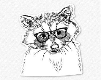Randy the Raccoon - Decal Sticker