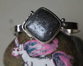 Spectacular Specular Hematite Bracelet!