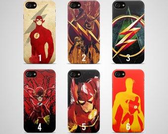 Flash phone case flash iphone case 8 plus 7 X 6 6s 5 5s se galaxy flash samsung case s8 s7 edge s6 s5 s9 note 4 gift dc superhero comics
