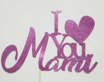 Mother's Day Cake Topper/ Mother's day gift