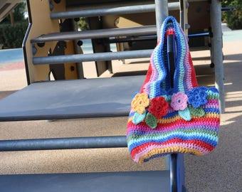 Kids crochet handbag