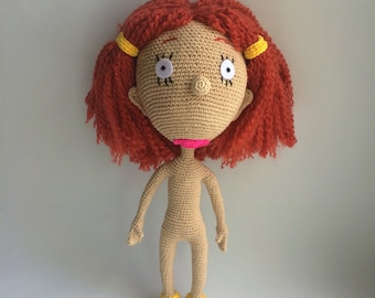 Ginger By As told by Ginger, PDF CROCHET PATTERN, Instant Download, Amigurumi