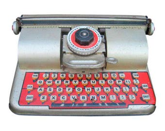 Berwin Superior Toy Typewriter 10.0ʺW × 7.0ʺD × 5.25ʺH