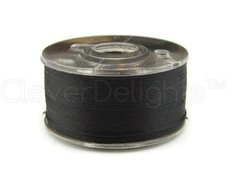 36 Size A Black Prewound Bobbins - SA156 Replacement Bobbins - Class 15 - For Brother Embroidery Machines - See Compatibility List