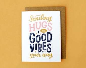 Sympathy Greeting Card, Thinking of You, Grief Card, Good Vibes, Encouragement Card, Motivational, Loss Card, Positivity, Pet Loss Card