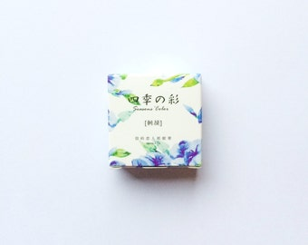 Morning Glory Blue - Card Lover Washi Tape (15mm X 7m)