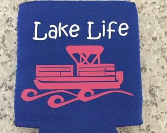 Lake life can cooler| lake Life boat can cooler|