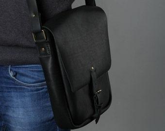 men's briefcase / women's briefcase / black briefcase / leather briefcase