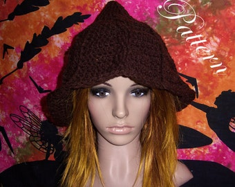 """Earthy Witch Hat """"""""""""P A T T E R N"""""""""""""""