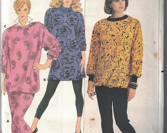 4238 Butterick Misses Sewing Pattern UNCUT Loose Fitting Top Pants