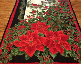Christmas Quilted Table Runner or Wall Hanging