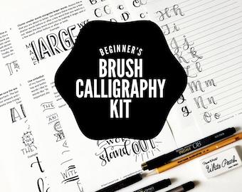 Beginner's Brush Calligraphy Kit