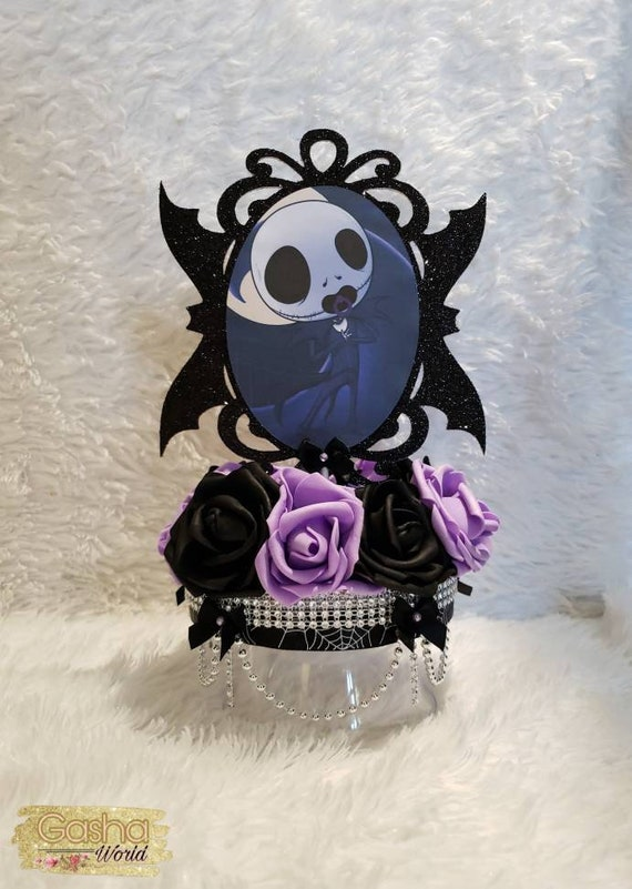 Jack Skellington Baby Shower Centerpiece/ Baby Jack Skellington/ Nightmare  Before Christmas Baby Shower/Nightmare Before Christmas Theme