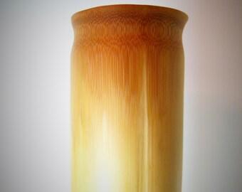 Bamboo Vase - Forest Bamboo - Carved Bamboo Flower Vase