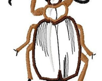 Beetle Applique Machine Embroidery Designs...1186