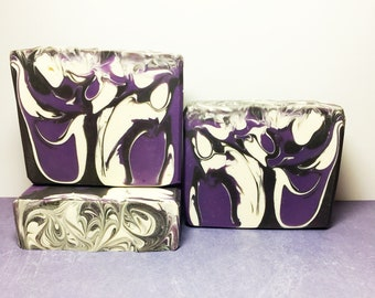 Galactic Grape Soap, Handmade Soap, Cold Process Soap, Bar Soap, Artisan Soap