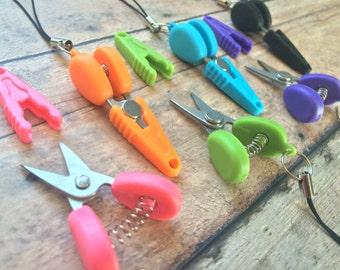 Mini scissors - thread snips for knit/crochet/airplane/embroidery