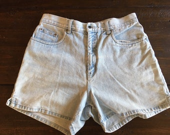 Vintage Halston Denim Shorts JeansWear Size 10
