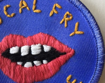Vocal Fry Till I Die Patch