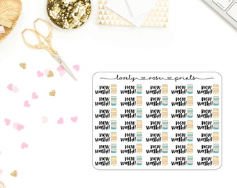 New Washi! Functional Planner Stickers