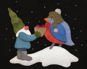 Berries and Blue Gnome - Pattern & Kit