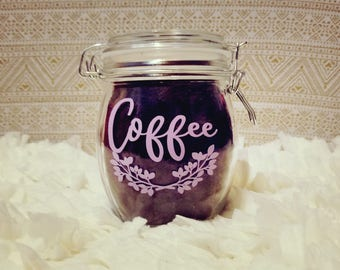 Custom Coffee Canister