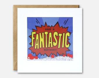 Fantastic Birthday Shakies Card by James Ellis
