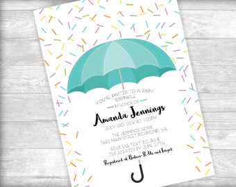 Baby Sprinkle Invitation Printable
