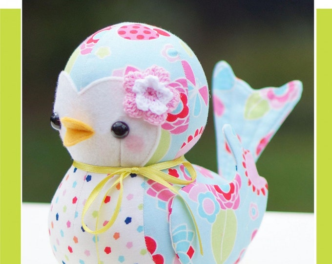 Bonnie Bluebird by Melly & Me Paper Pattern