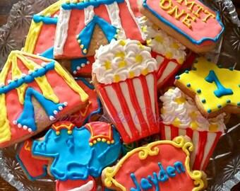 Circus cookies (12 cookies)