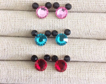 Swarovski Birthstone Stud Earrings (5 colors left!)