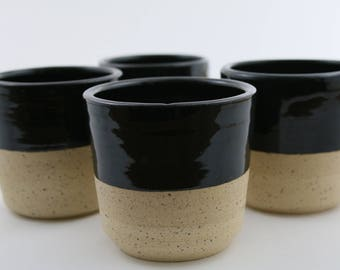 Speckled Stoneware Mugs