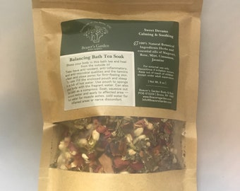 Aromatherapy Bath Tea Soak - Herbal Bath Soak - Therapeutic - Relaxing - Healing - Stress release - Treat Yourself - Bath tea bag soak