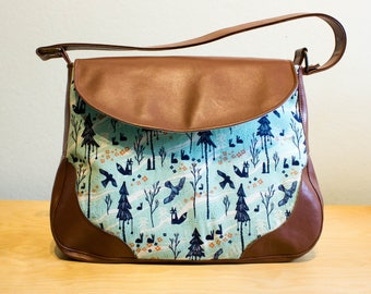 Sadie Expandable Shoulder Bag - Ready to Ship from UK as shown