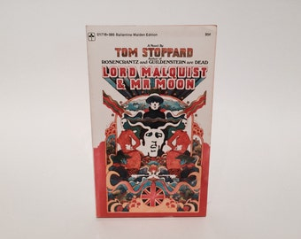 Vintage Pop Culture Book Lord Malquist & Mr. Moon by Tom Stoppard 1969 Paperback