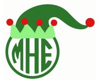 Elf Hat Monogram