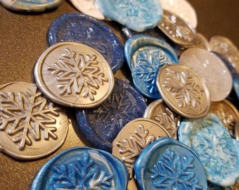 Wax Seal Jewelry Frozen Pendant