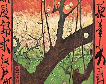 Vincent Van Gogh: Japonaiserie. Fine Art Print/Poster (001518)