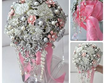 "7"" Brooch Bouquet"