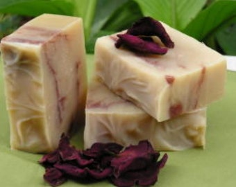 Southern Rose Garden, Organic ingredients, Essential Oil Soap, Natural Handmade Cold Process Soap