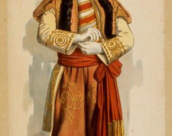 Prince Dandilo in Burlesque version of Lehar's Merry Widow, Weber's Theatre on Broadway 1908
